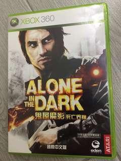 XBOX360 Alone in the dark 鬼屋魔影 死亡界線