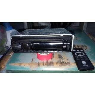 Car Player Sony + Remote