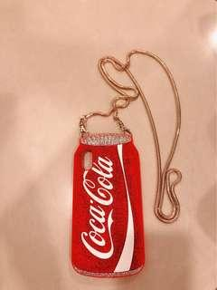 iPhone X coke cover with sling