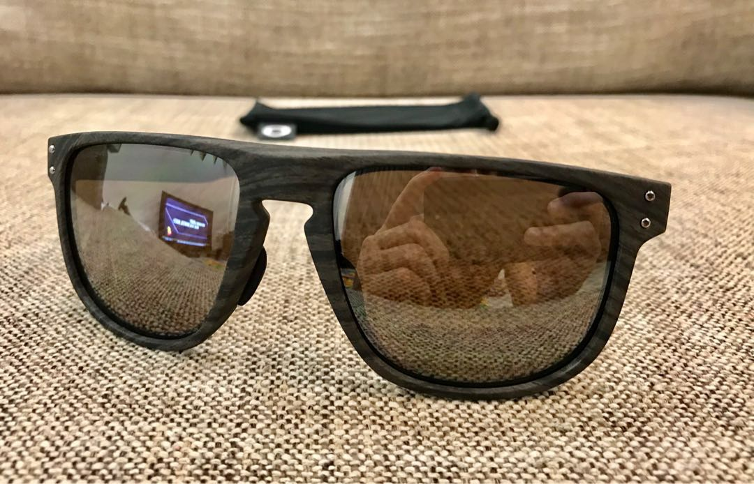 2fd3f98c74 🔴 Oakley™ HOLBROOK R Asian Fit (Woodgrain Prizm Black)