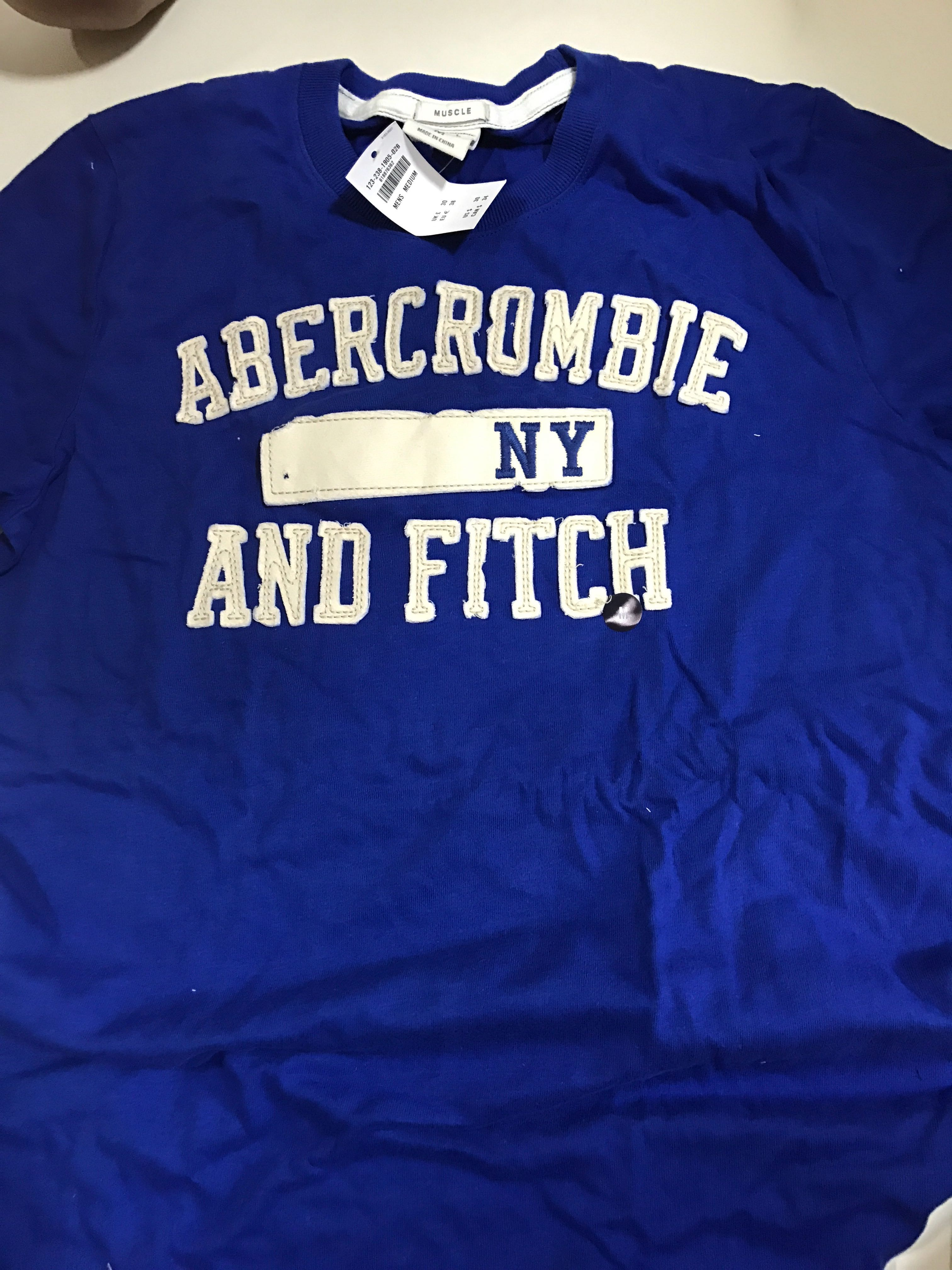 5458cd1e Abercrombie & Fitch muscle tee, Men's Fashion, Clothes, Tops on ...