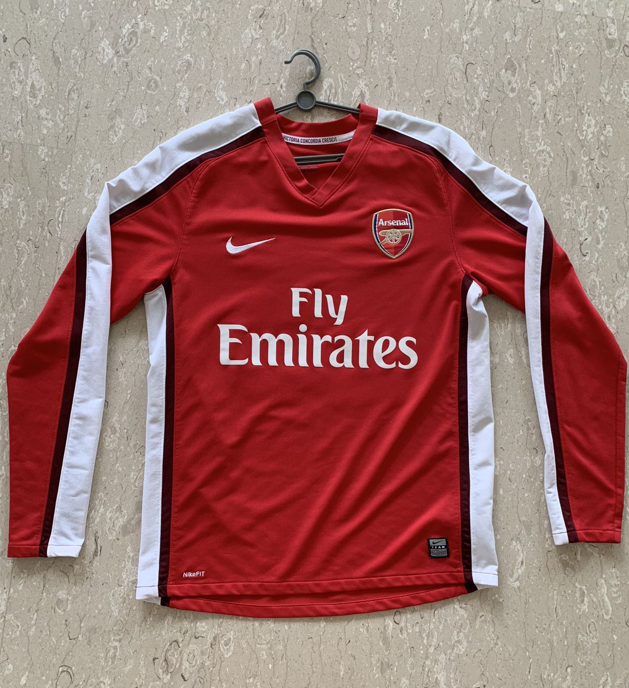 premium selection 53186 bdd6d Arsenal Nike Jersey 09/10 (Adebayor) Size M, Sports, Sports ...