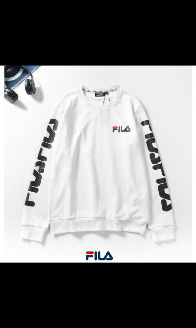 1a114cc1110f Authentic FILA pullover, Men's Fashion, Clothes, Tops on Carousell
