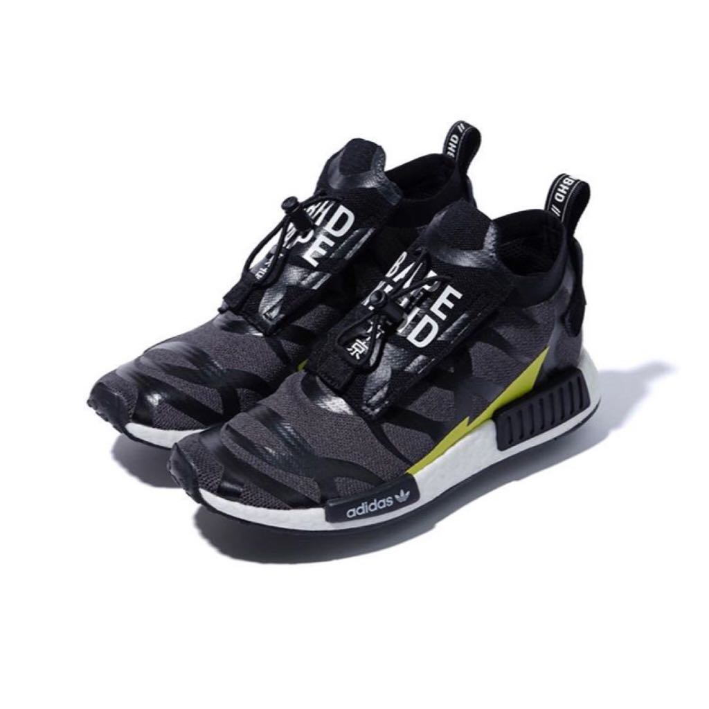 858a0a801094d Bape x Adidas x Neighbourhood Nmd R1 STLT