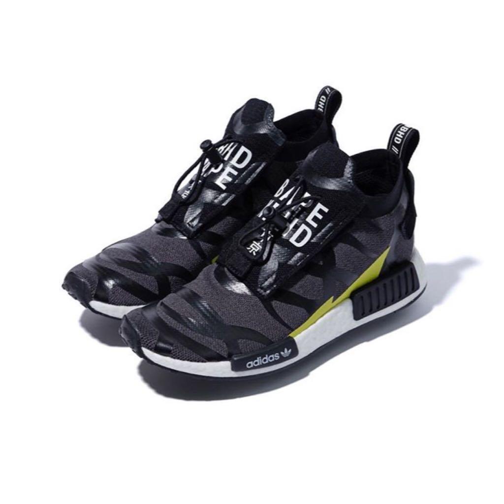 Bape x Adidas x Neighbourhood Nmd R1 STLT, Men's Fashion