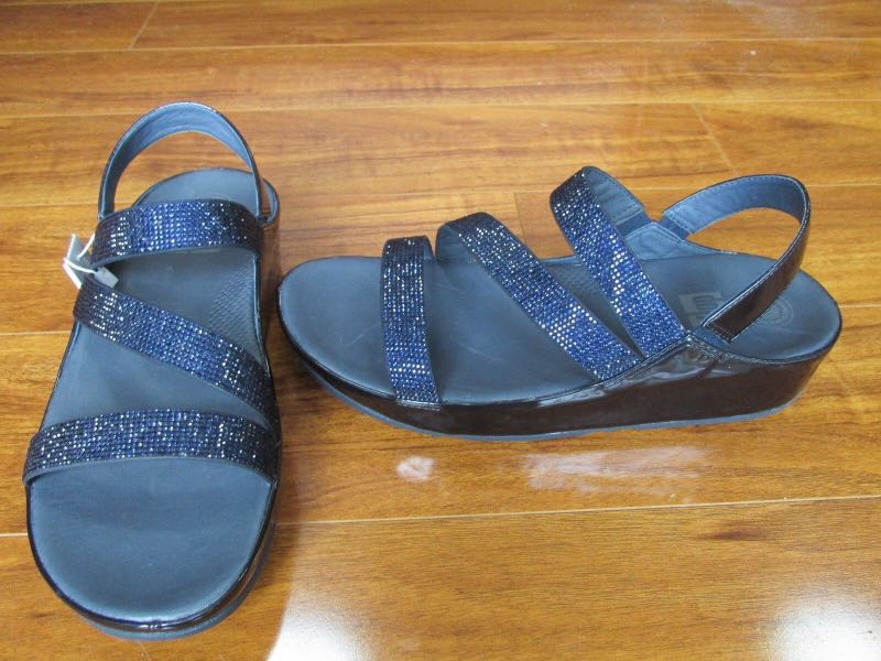 d717ac63e BRAND NEW FitFlop Crystall Z-Strap Sandal