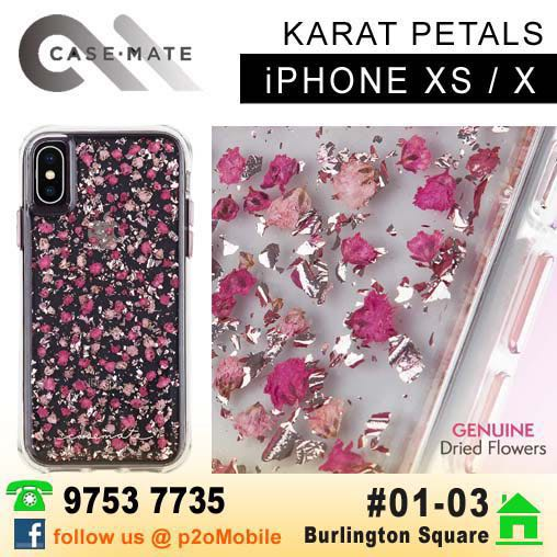 new arrival 328a3 081df Case-Mate Karat Petals Ditsy Flowers for iPhone XS / X