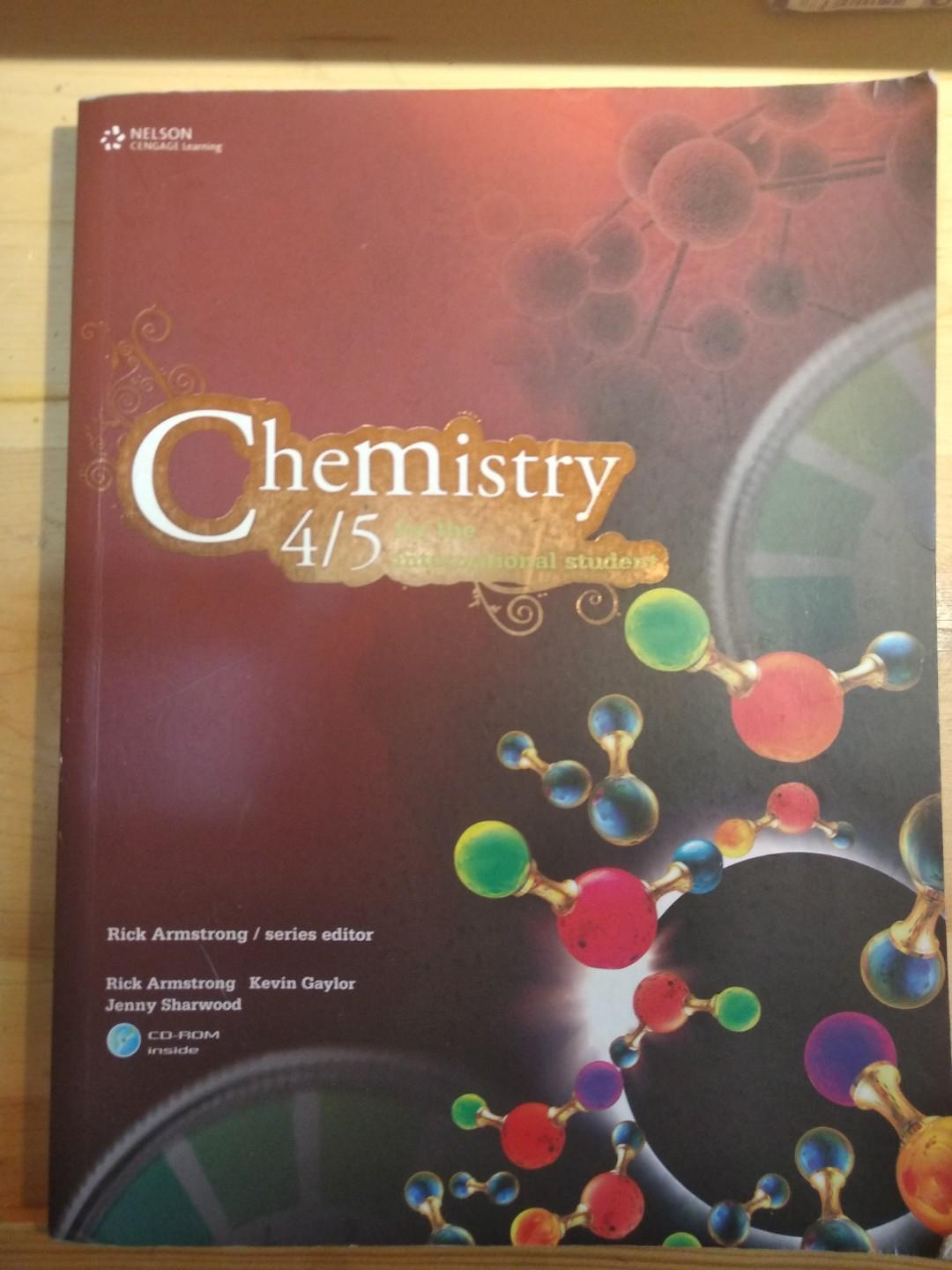 Chemistry 4/5 for the International Student