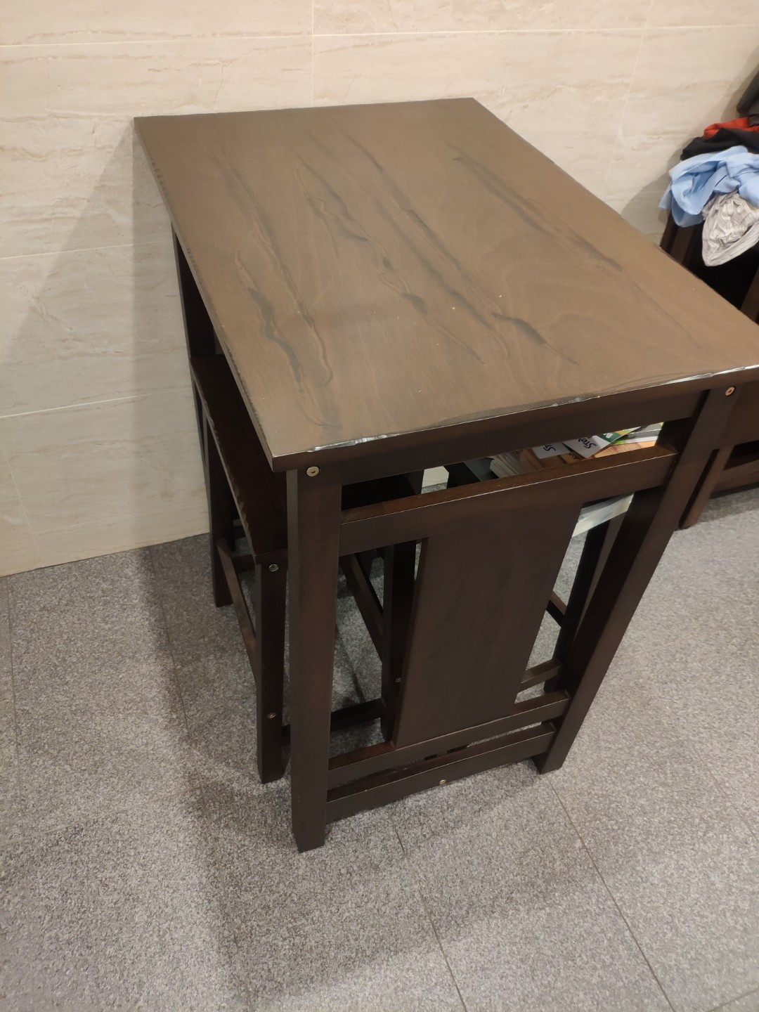 reputable site 51d35 7364c Compact dining table for 2