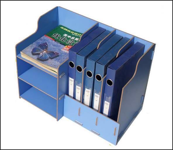 Diytable Organiserorganizerbook Shelfofficedeskorganiser