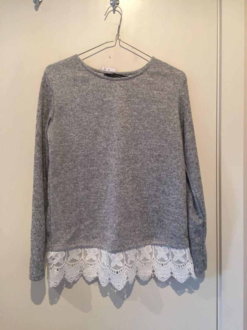 Dorothy Perkins Grey Sweater