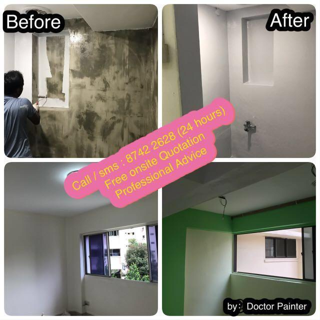 Early booking promotions! Painting services ! Home / office / residential and commercial! Low price