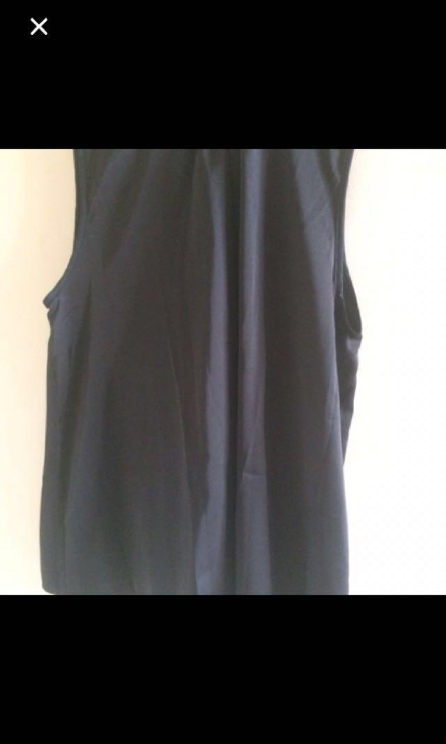 Elzatta inner outer black silk new