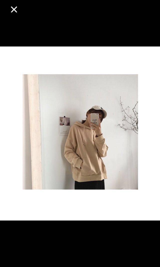 [FREE*] Cream coloured hoodie