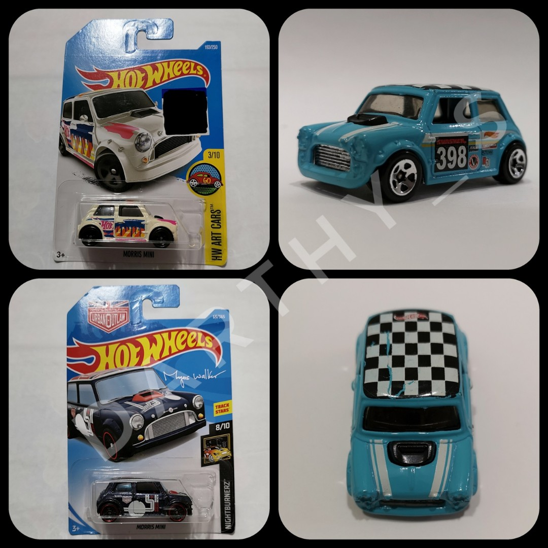 Hot Wheels Morris Mini Lot Of 3 Toys Games Others On Carousell