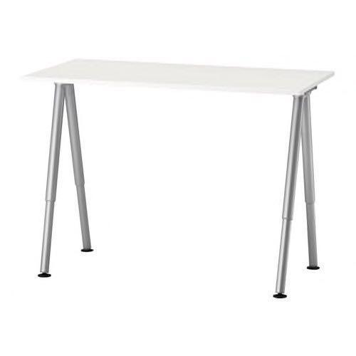 Magnificent Ikea Galant Desk Table Adjustable Height Furniture Tables Download Free Architecture Designs Terstmadebymaigaardcom
