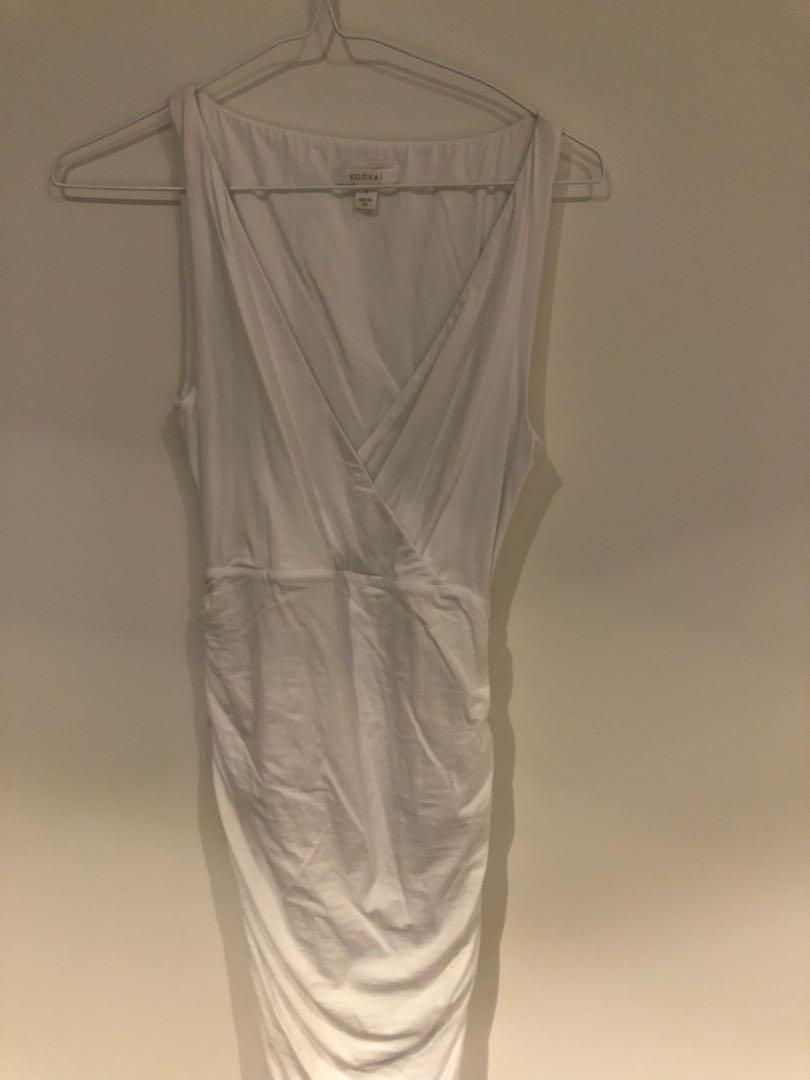 Kookaï white dress