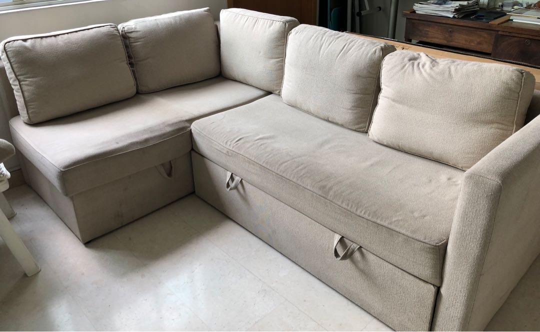 40ecd6ae7 L shaped sofa bed - pullout queen size bed