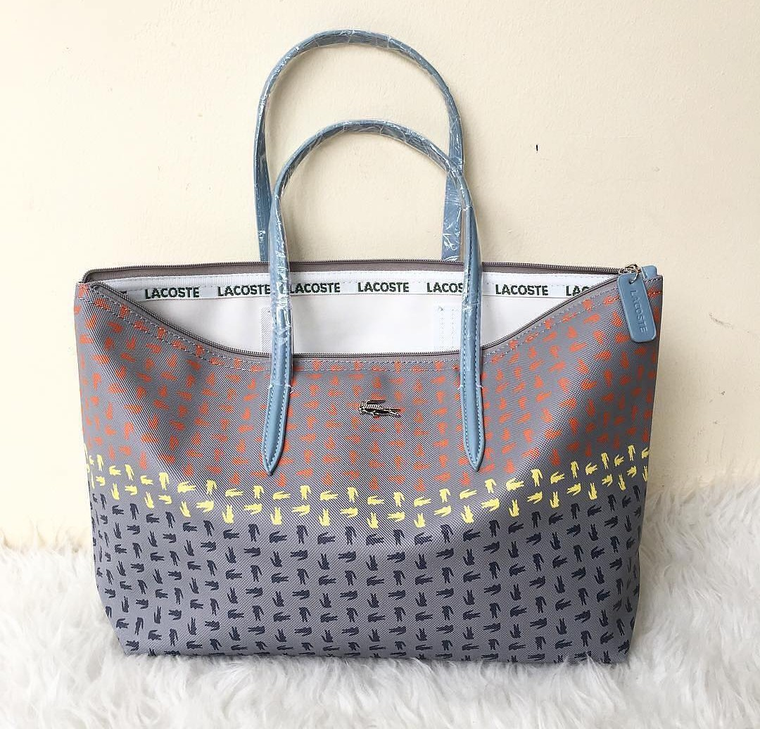 547e291b53 Lacoste Totebag, Women's Fashion, Women's Bags & Wallets on Carousell