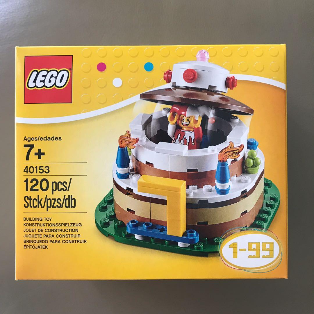 LEGO 40153 Birthday Deco Table Toys Games Bricks Figurines On