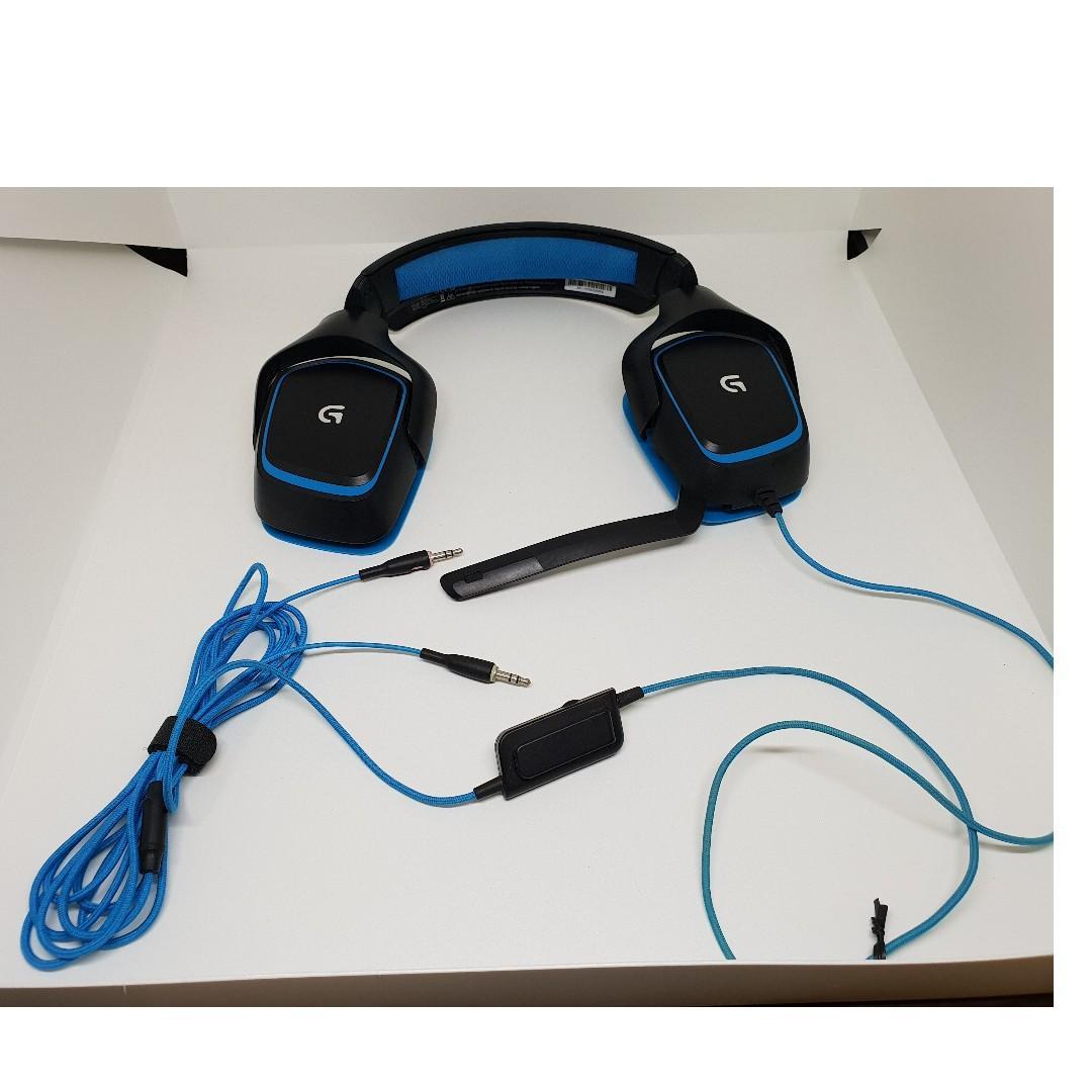 LOGITECH G430 SURROUND SOUND GAMING HEADSET, Toys & Games