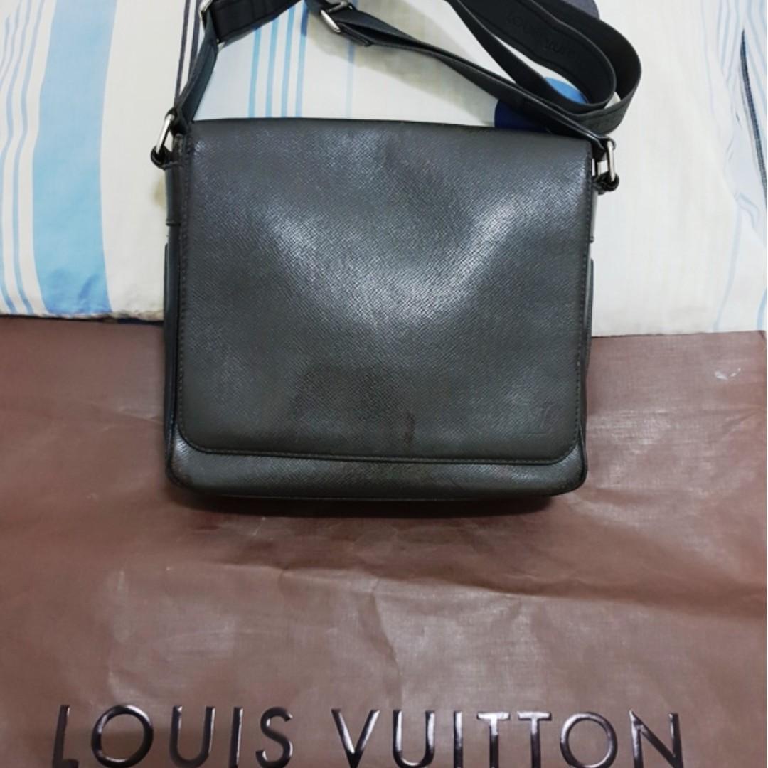 dcd00fc711113d Louis Vuitton LV Roman PM Ardoise original not gucci hermes bally ...