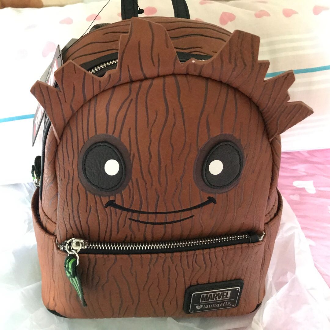 Loungefly x Marvel Groot Mini Backpack ffd08759b4c6d