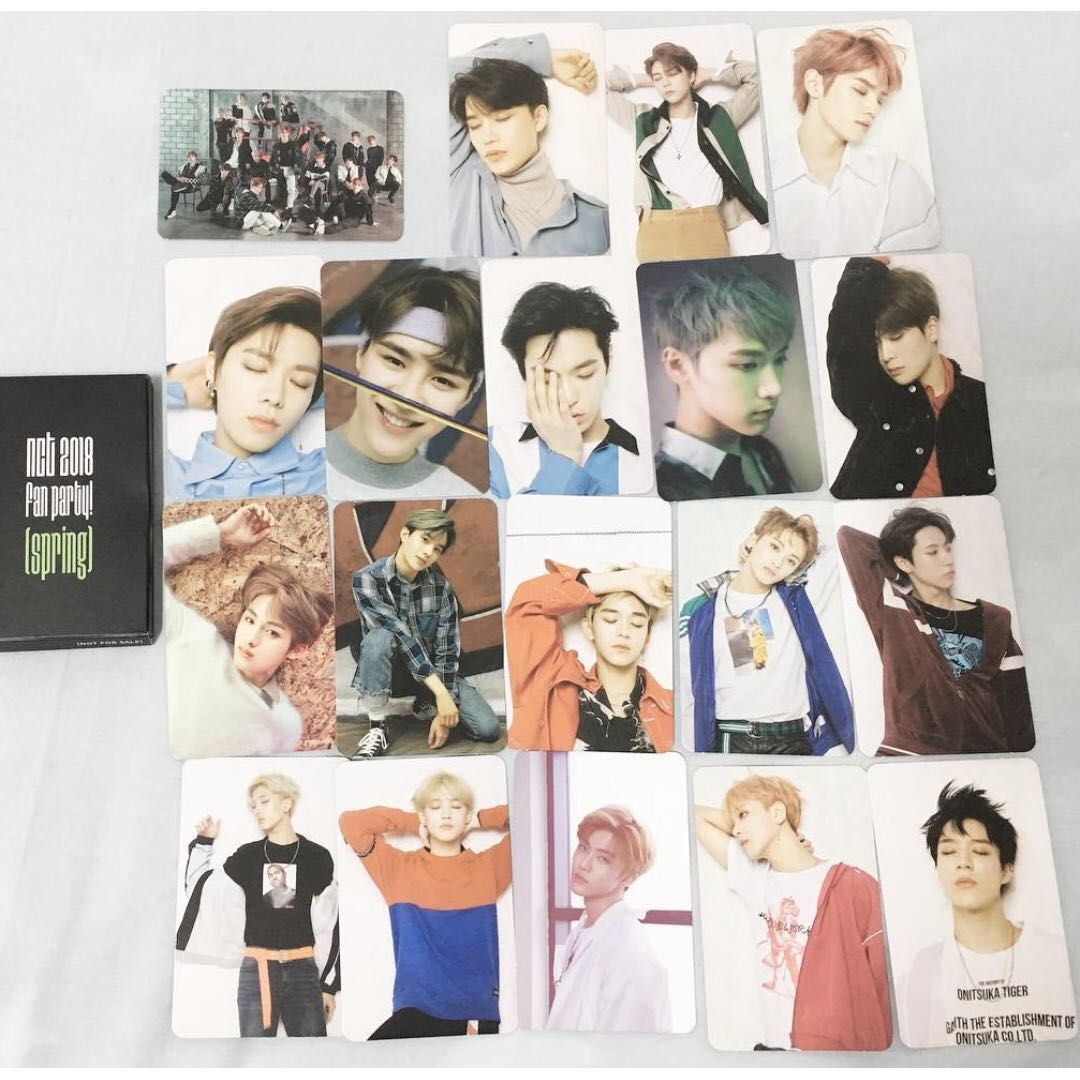 NCT 2018 Spring Fan Party PC
