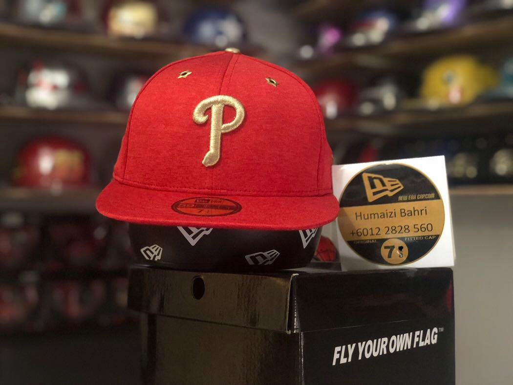 ac8d704e1d92f6 New Era 59fifty all star game Baseball MLB 2017 Philadelphia Phillies  fitted cap / hat size 7 1/4, Men's Fashion, Accessories, Caps & Hats on  Carousell