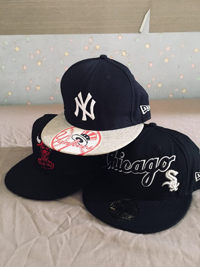 19b9dad4c66 New Era Cap Fitted Size 7 Assorted