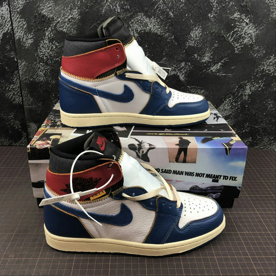 8476eeccc30f Nike Air Jordan 1 High x Union La