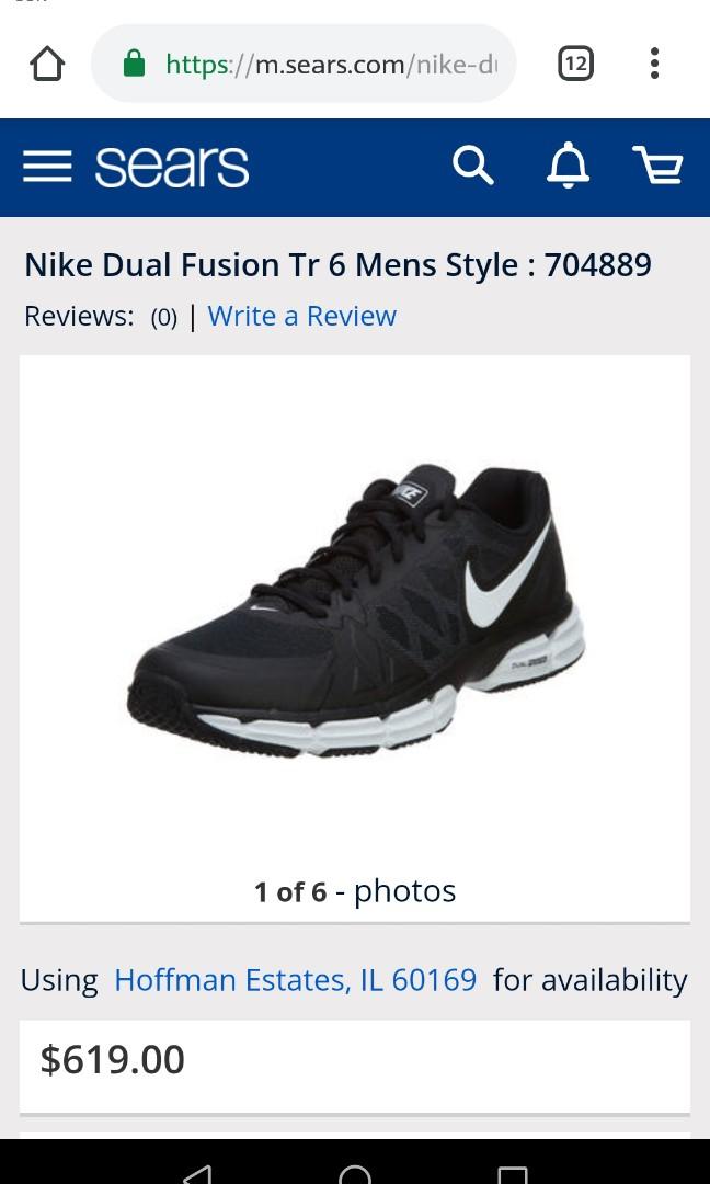 c2c405694cd2 Nike Dual Fusion TR 6 Men