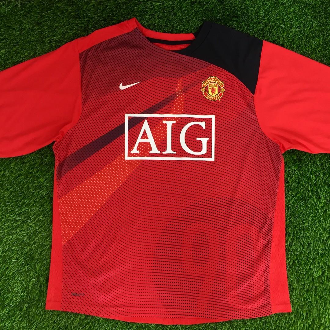 487ffd3b4 Nike Manchester United Training Kit Shirt Jersey Kit