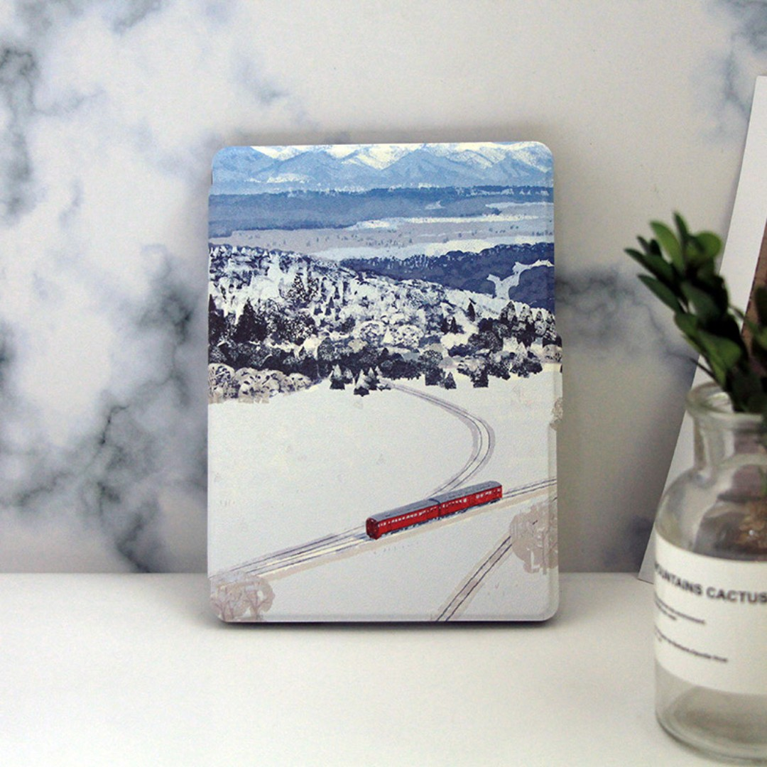 PO: Snow landscape case [Kindle 8/Voyage/Oasis 2/PW1/2/3/4]