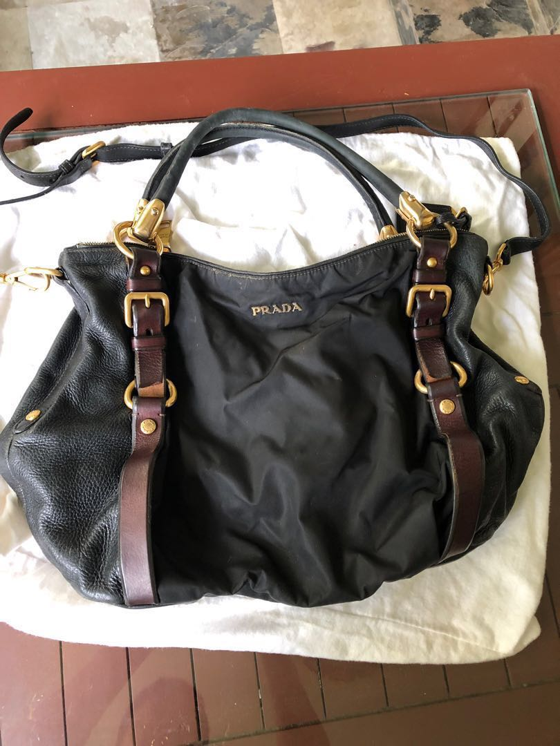 7574a56ce48f Prada bag, Luxury, Bags & Wallets, Handbags on Carousell