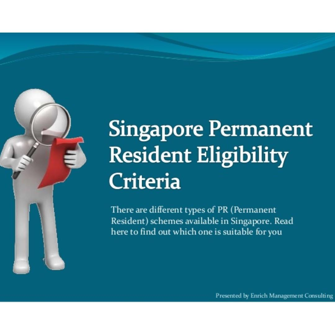 Relocating to Singapore (pr permanent resident/citizenship/work pass)