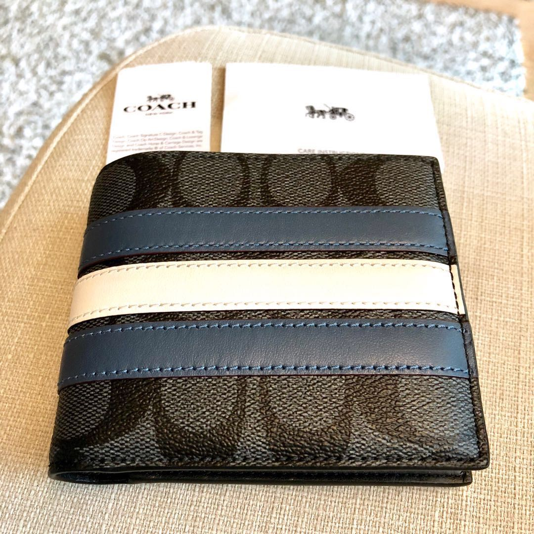ce9fe76ec4197 RESERVED!✨Coach Mens Wallet New Authentic BNWT