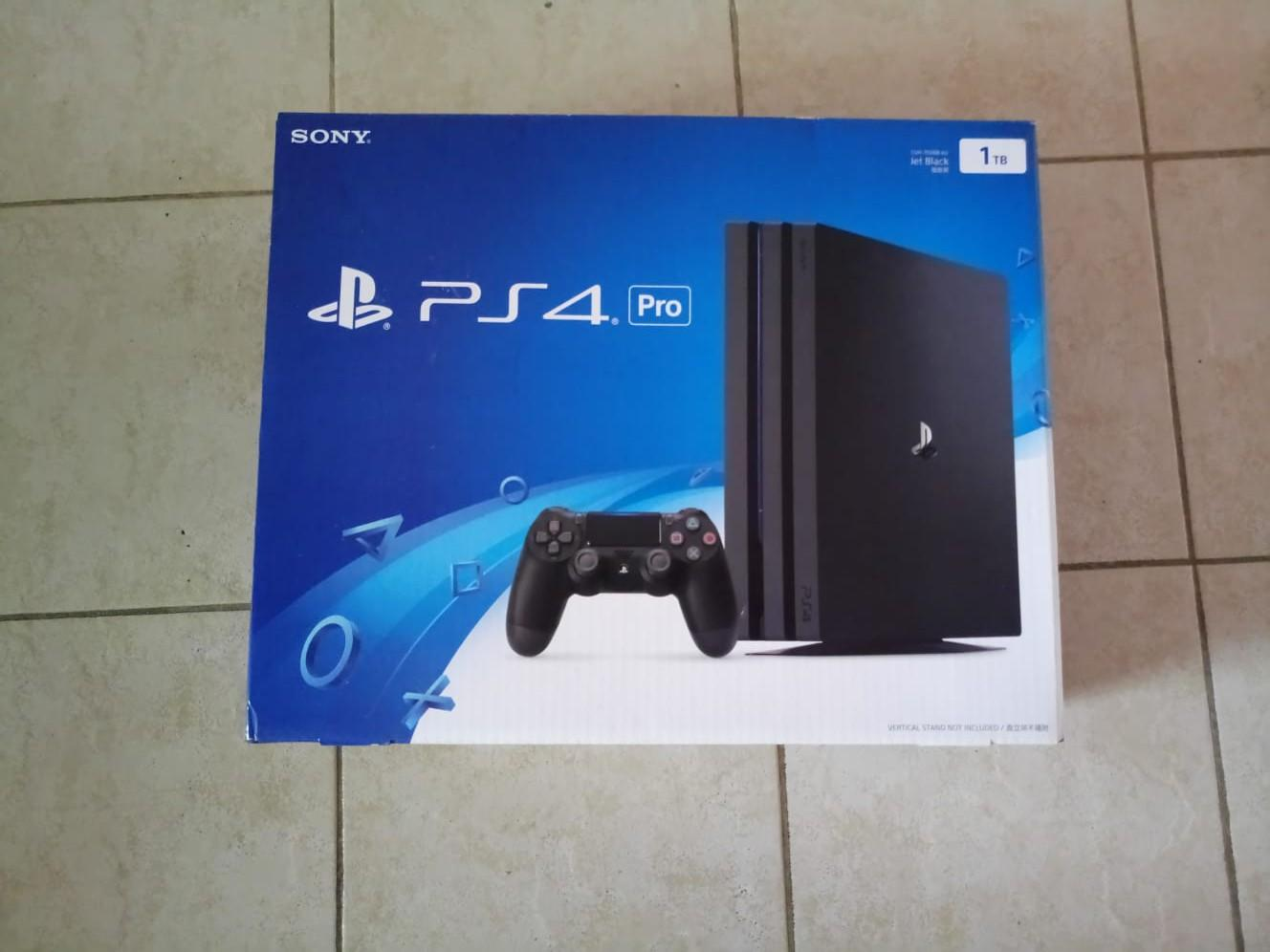 Sony PS4 PRO 1TB with Box, Toys & Games, Video Gaming