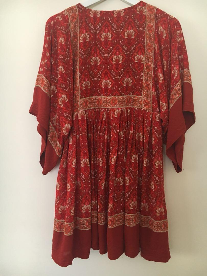 Spell and the Gypsy Collective Jewel Tunic Dress XS 6-8 EUC RRP $250 Spell Designs