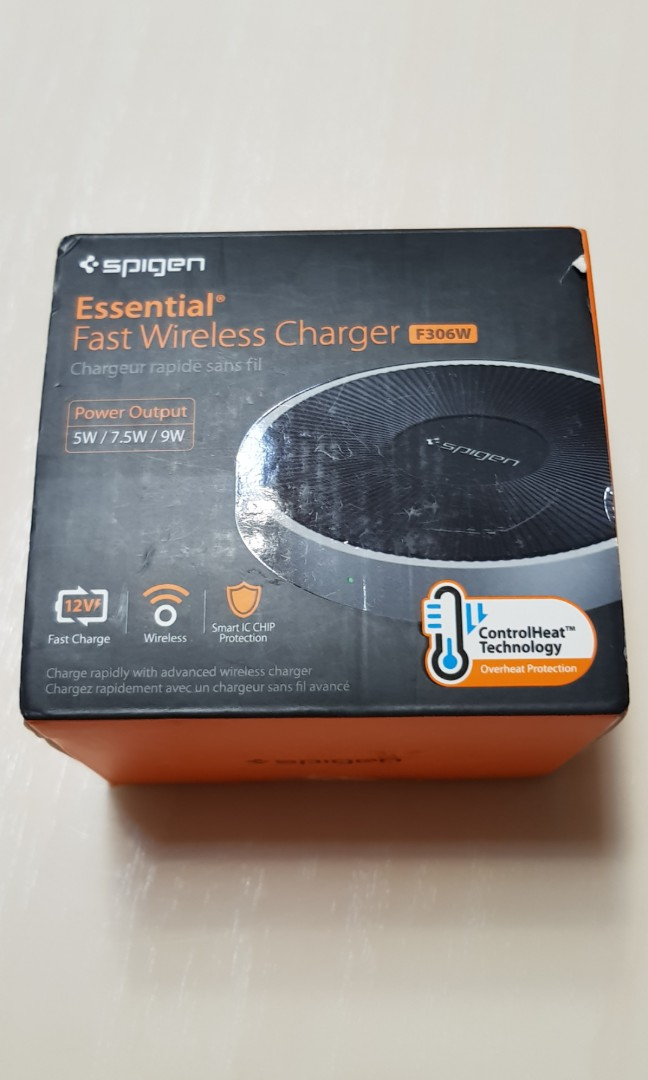 sneakers for cheap 3eba1 a5225 Spigen Essential Fast Wireless Charger F306W