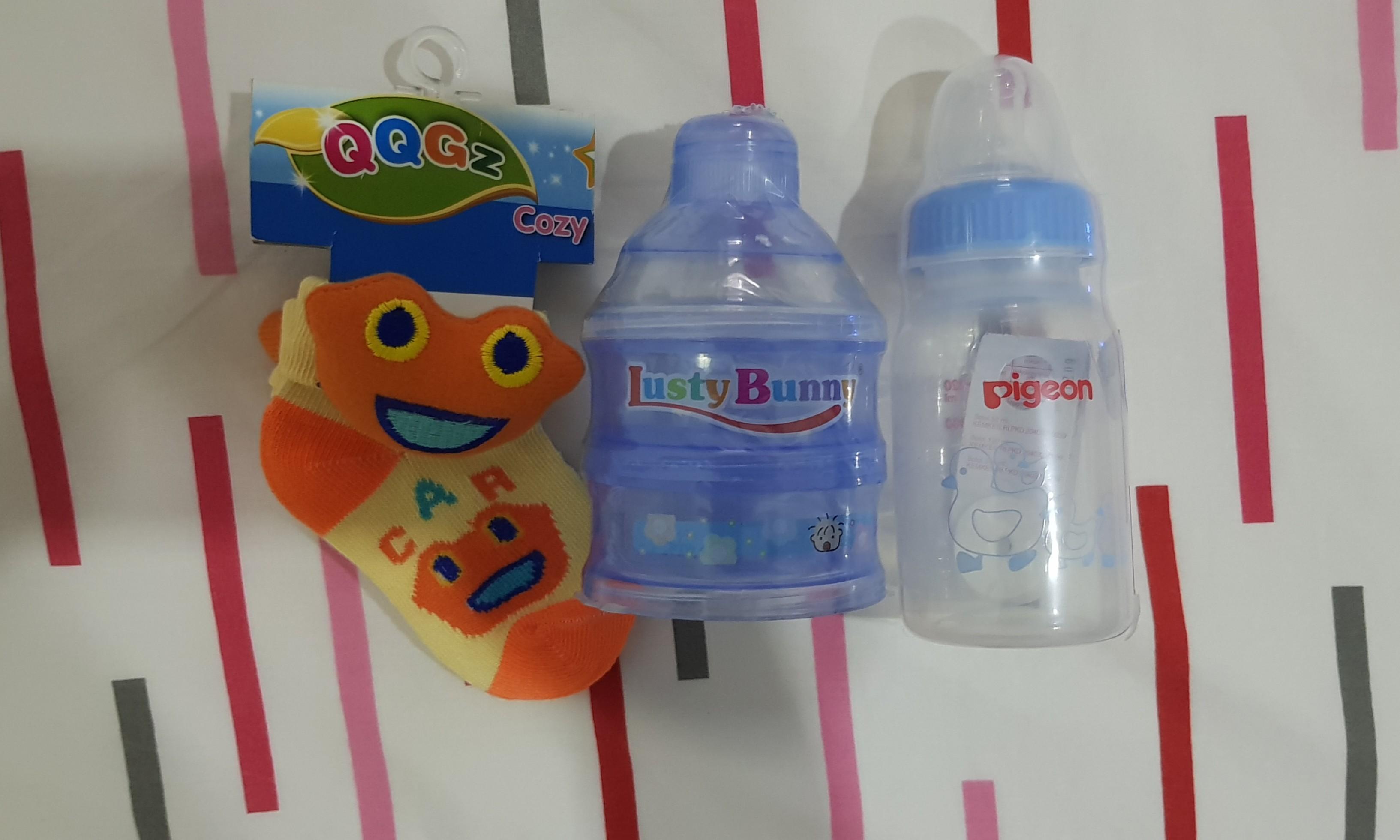 fd720914f695 Take All Botol Pigeon 120ml, Formula Dispenser & Kaos Kaki