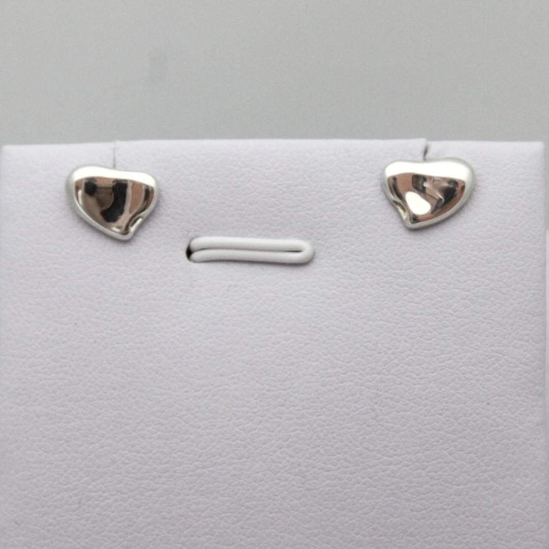 352e13ab8 Tiffany & Co Elsa Peretti Full Heart Earrings (New Year Promosi ...
