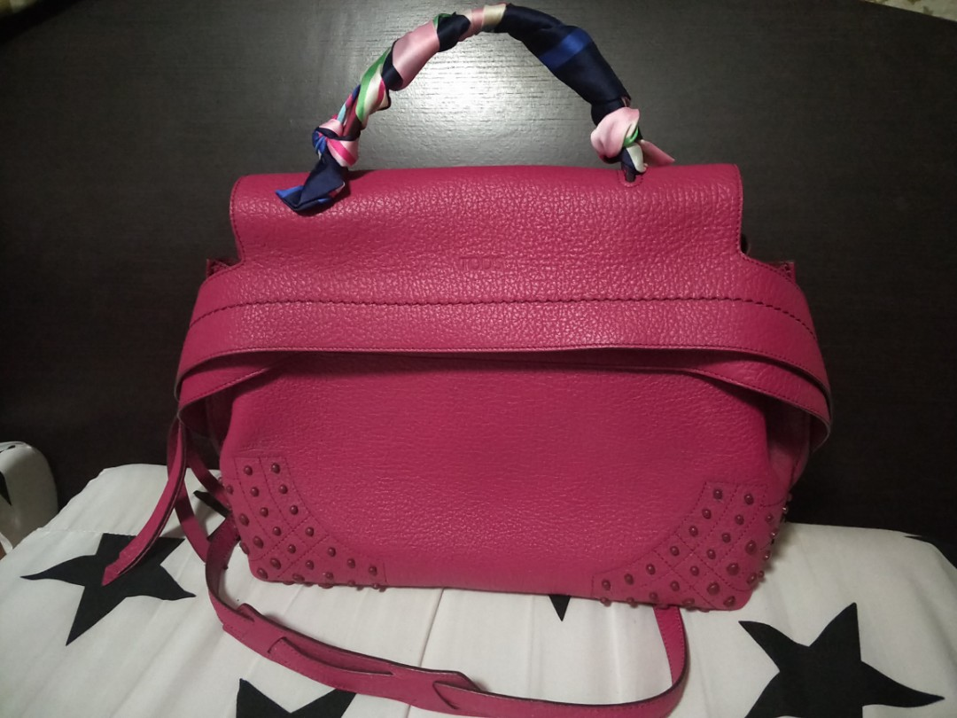76cd5667e4c Tods wave bag- medium (2 time instalment accepted), Women's Fashion, Bags &  Wallets, Handbags on Carousell