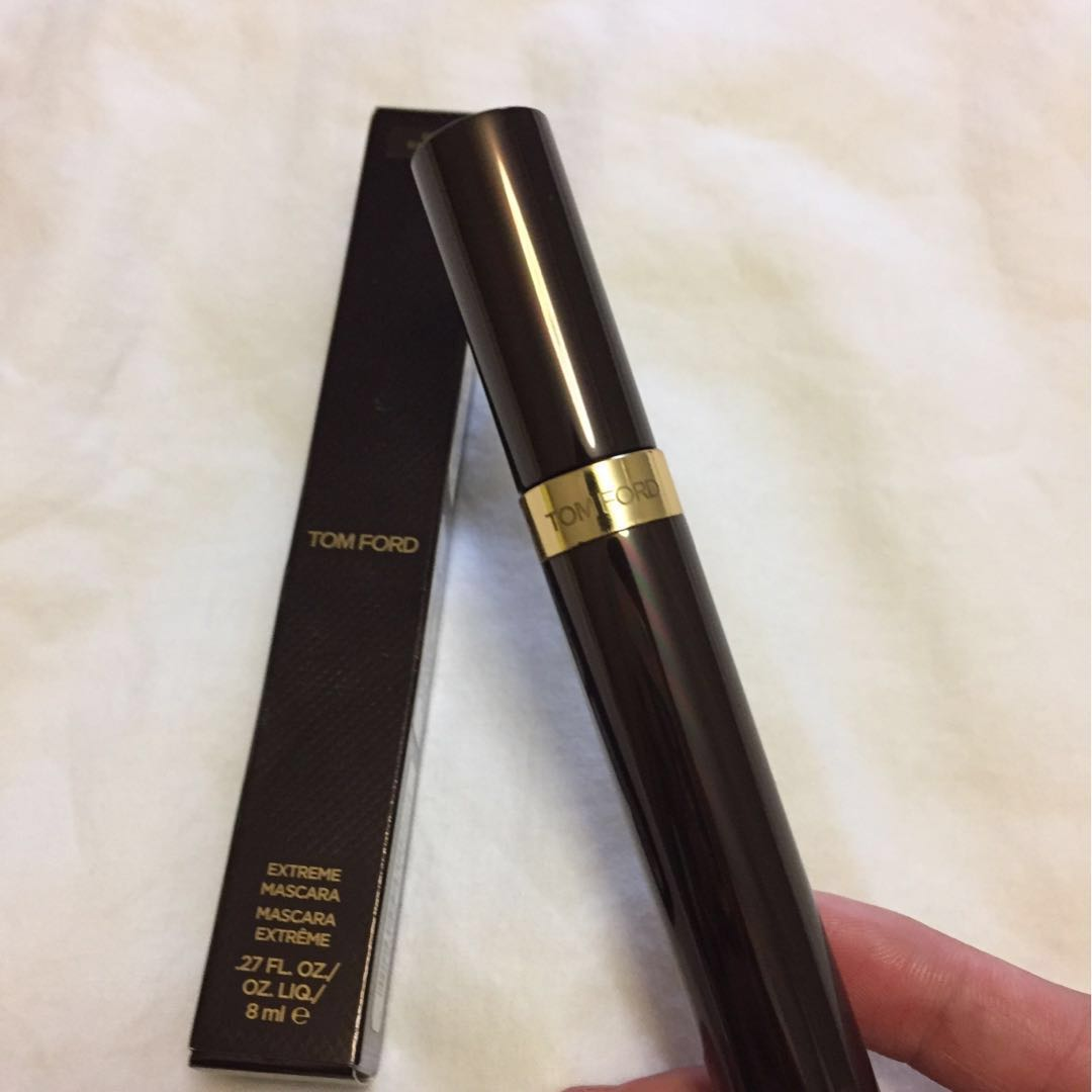 cd02c80e951 Tom Ford Extreme Mascara Raven 01, Health & Beauty, Makeup on Carousell