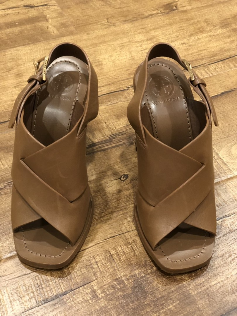 7056a9a43c2 Tory Burch Bleecker Slingback Leather Sandal