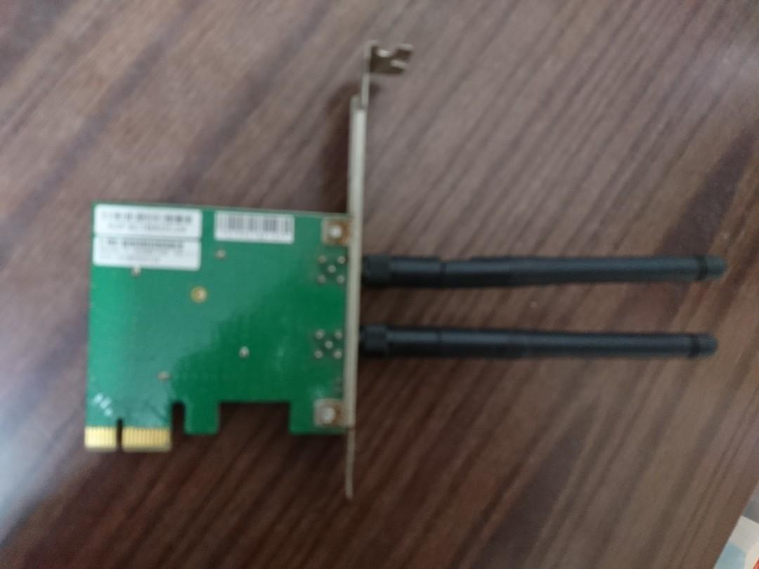 Tplink 300mbps PCIe 底板 wifi card