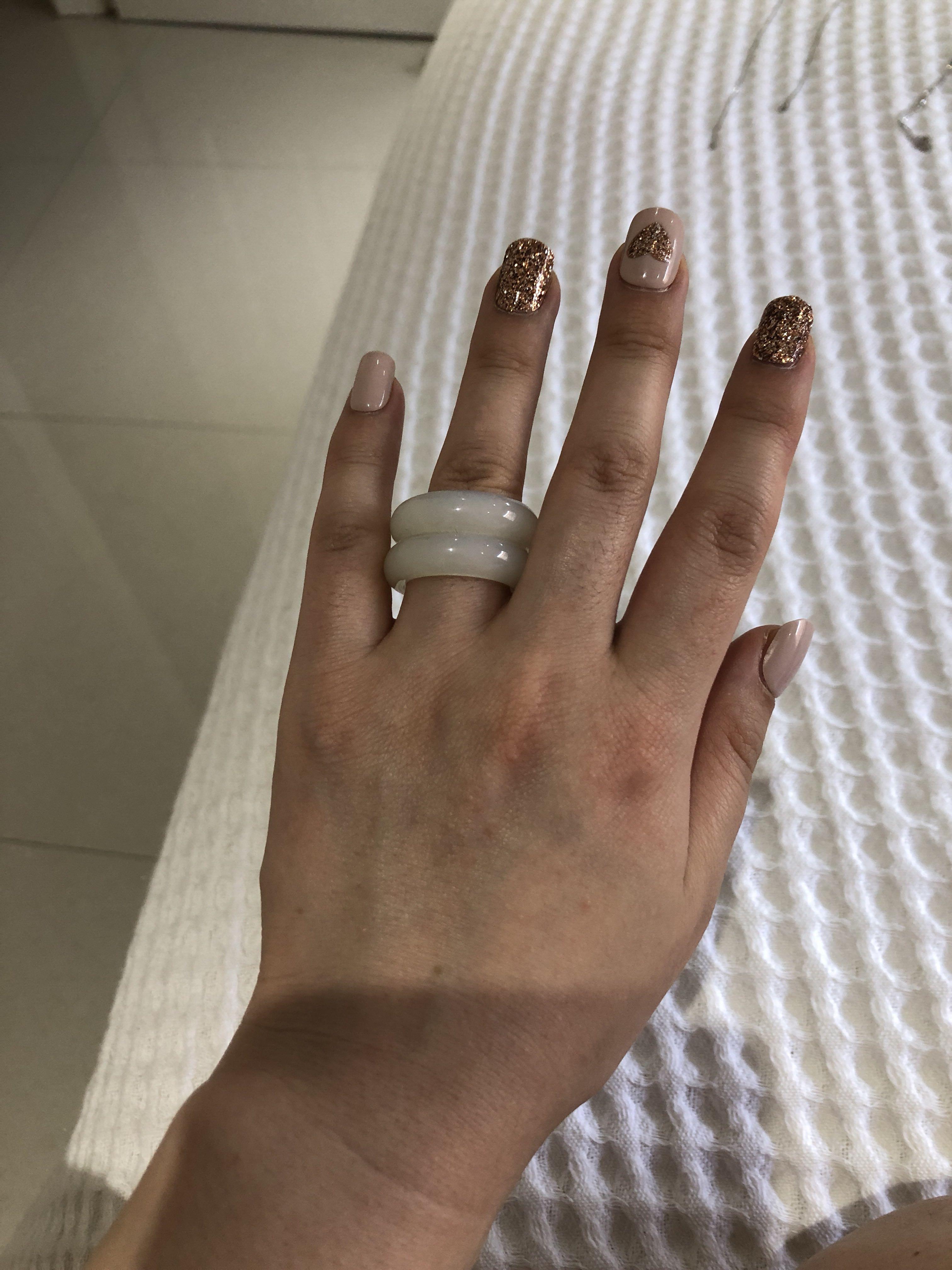 White Jade ring from Korea