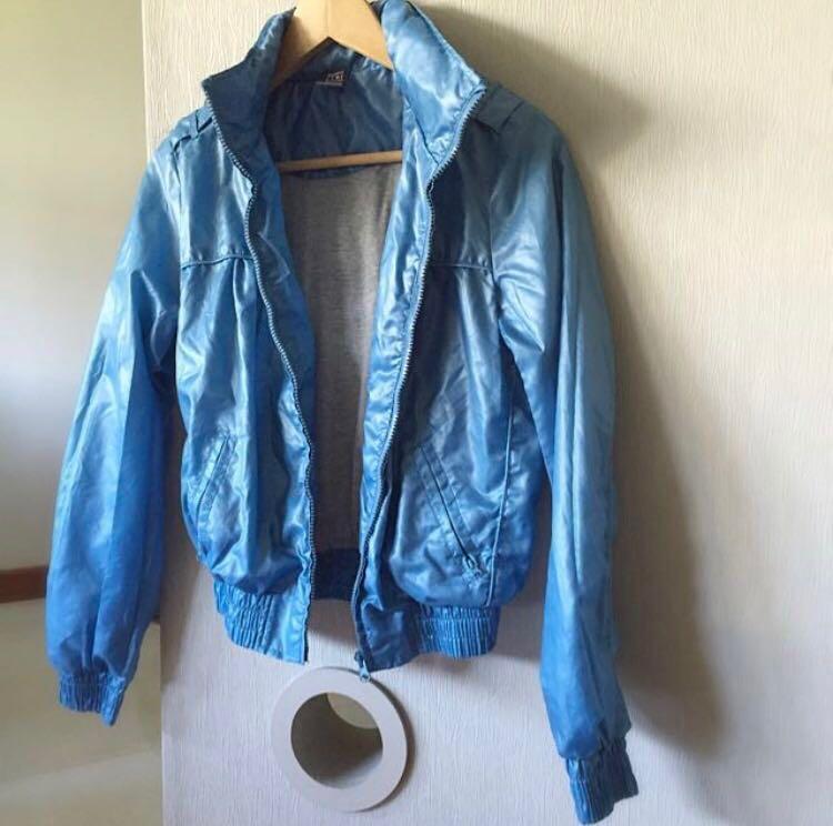 b443646ebaf0 Zara Bomber Jacket / Windbreaker / Raincoat, Women's Fashion ...