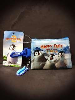 Orig Happy Feet 2 Warner Brothers Wallet