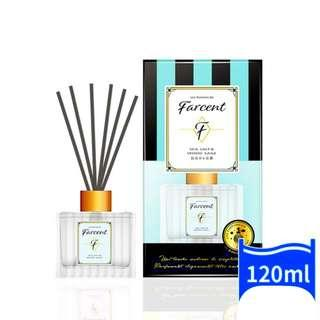 Farcent Room Aroma Diffuser with reed sticks 120ml